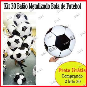 bcb7b98427 Balão Bola De Futebol - Festas no Mercado Livre Brasil