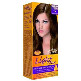 Tintura Light Color Marrom Dourado 7.7