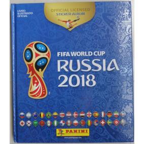Album Copa Do Mundo 2018 Completo Capa Dura - Todas Coladas