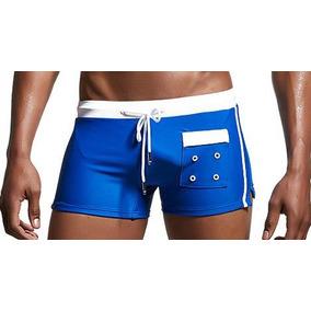 919eb29de Bañadores Hombres Breve Pantalones Cortos Traje De Baño De