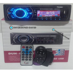 Reproductor Pioneer Bluetooth De Carro Mp3 Usb Radio Control