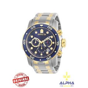 Relógio Original Invicta Pro Diver 0077 Na Caixa E Card