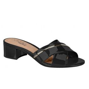 886fc53e1 Sandalia Verniz Preta Beira Rio - Sapatos em Minas Gerais no Mercado ...