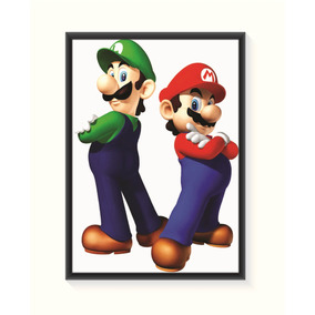 Pôster Mario E Luigi - Grande