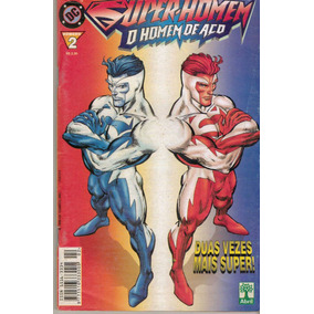 Quadrinhos Super Homem - O Homem De Aço Nº 2 - Abril De 1999