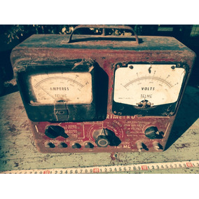 Telme Voltimetro Amperimetro Antiguo