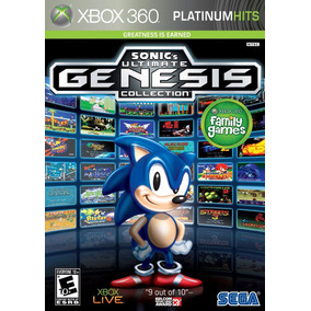 Sonics Ultimate Genesis Collection Xbox 360 Original