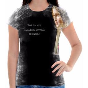 Camisas Religiosas Com Frases De Nossa Senhora De Fatima Camisetas