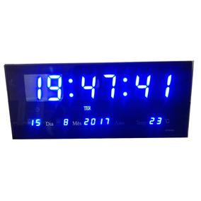 373f8d8fa41 Relogio Parede Digital Grande - Relógios De Parede no Mercado Livre ...