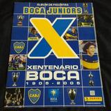 Album Figuritas Futbol Xentenario Boca Juniors Panini 2005