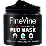 El Carbón Activado Máscara Del Fango - Hecho En Ee.uu. - Par