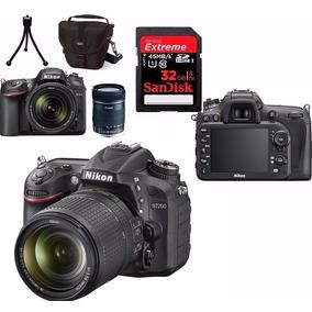 Câmera Nikon D7200 + 18-140 +bolsa+tripé+32gb Classe10 Em Sp