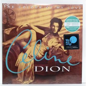 Lp Celine Dion The Colour Of My Love Colorido Lacrado .