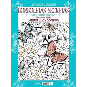 Livro De Colorir - Borboletas Secretas