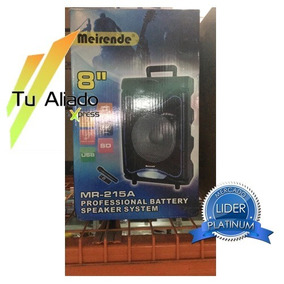 Altavoz Portatil Amplificada Meirende Mr-215a Bluetooth