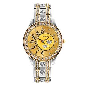 f25f553b9ce64 Tidoo Relojes De Lujo Con Diamantes De Imitacion Para Mujer