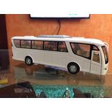 Autobús De Pasajeros A Escala Metal 1/68 Excelente Calidad