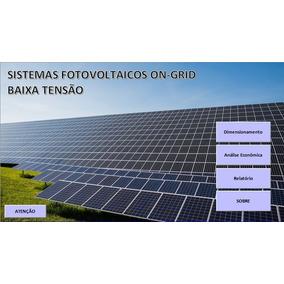 Dimensionamento Sistemas Fotovoltaicos - Análise Econômica