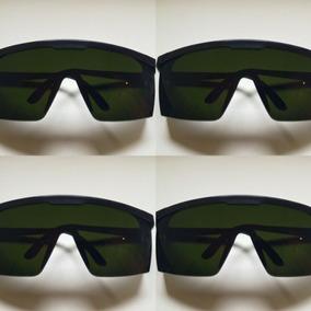 11c86281db697 Kit Com 4 Oculos De Proteçao Contra Raio Laser E Luz Pulsada. R  230