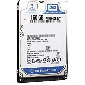 Disco Duro De 160gb 2.5 Sata
