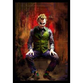 Quadro Decorativo Coringa Joker Arte Vilão Batman
