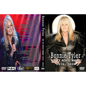 Dvd Duplo Bonnie Tyler On Tv Once More 1967-2010 - 60 Clipes