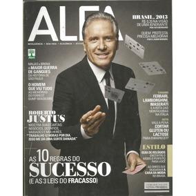 Revista Alfa -julho/2013 - Roberto Justus - Olivia Wilde