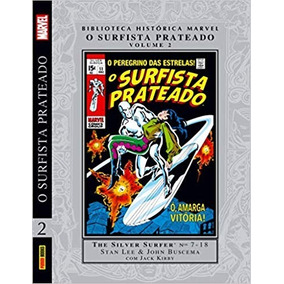 Biblioteca Histórica Marvel Surfista Prateado Vol 2. Novo.