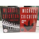 Jurassic Park + El Mundo Perdido Libros Michael Crichton
