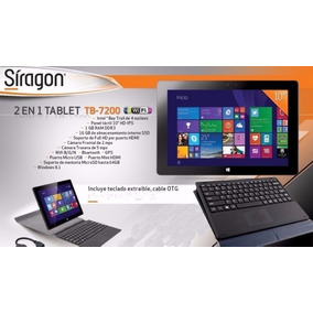 Tablet Minilaptop Siragon Tb 7200 Nueva!