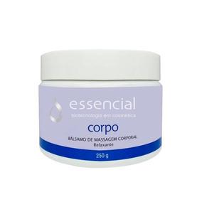 Bálsamo De Massagem Corporal Relaxante 250g - Essencial