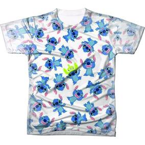 ea797d5259db7 Camiseta Lilo Stitch - Camisetas Manga Curta no Mercado Livre Brasil