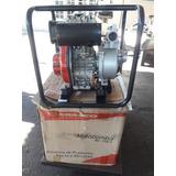 Moto Bomba Branco 5 Cv. Diesel Com Mangote.