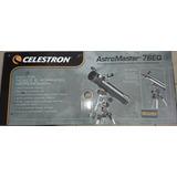 Telescopio Celestron Astromaster 76eq Nuevo!!!!