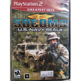 Socom 3 Para Playstation 2 - Envio Por Carta Registrada