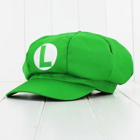 Mario Bros Gorra Envio Gratis Super De Calidad Luigi 243a73dc1b0