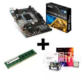 Kit Upgrade Gamer Intel ( Msi H110 + I7 6700 + 8gb Ddr4 )