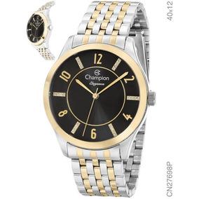 4cb4e0f14be Relogio Feminino Fundo Salmao Champion - Relógios De Pulso no ...
