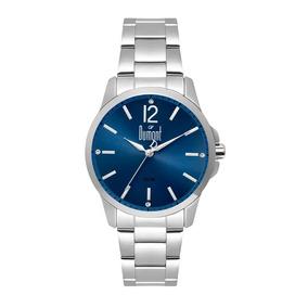 Relógio Dumont Feminino Du2035lvn/3a Prata Loja Autorizada