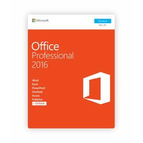 Licencia Office 2016 Pro Plus Licencia 1pc 100% Original
