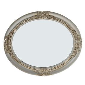Espejo Oval Silver 52 X 62 Cm