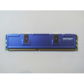Memoria Ram 512 Mb Ddr Patriot Azul Con Disipador De Calor