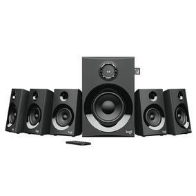 Bocinas Z607 5.1 Canales Logitech Bluetooth Sd Usb 160w