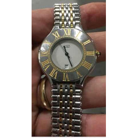 Relógio Original Masculino Must De Cartier