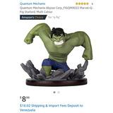 Muñeco Hulk, Figura Coleccionable, Qfig, Marvel