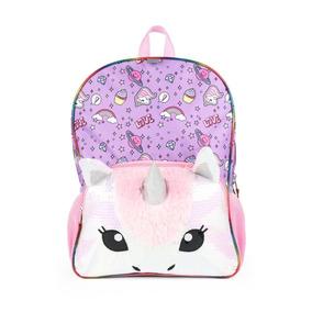 Unicornio Mochila Tipo Backpack Arcoiris Nueva Envío Gratis