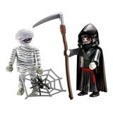 Momia Y Grim Reaper Set 9308 - Playmobil
