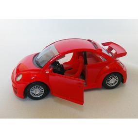 Raro Miniatura Volkswagen New Beetle Esportivo 1:32