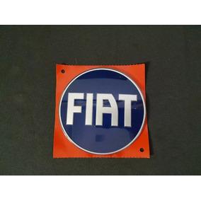 Emblema Tampa Traseira Fiat Strada Azul 2005 2006 2007 08 09