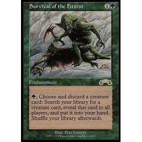 Cards Magic, Demonio Tutor, Survivalal If The Fittest Fechad